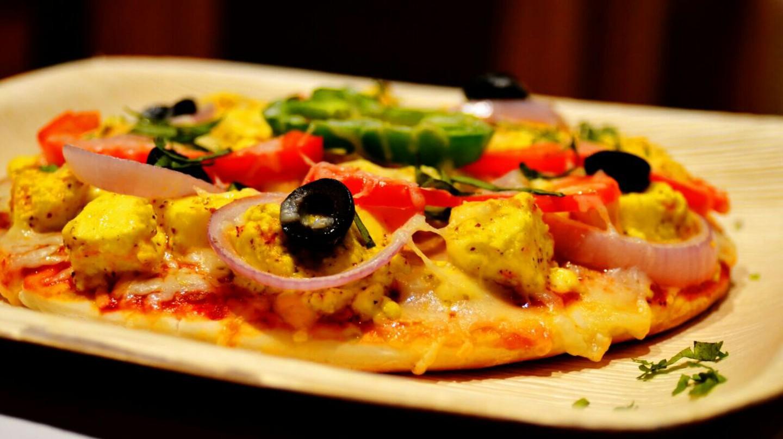 Kadhai Paneer Pizza   Bakester, Indiranagar/Courtesy of Zomato