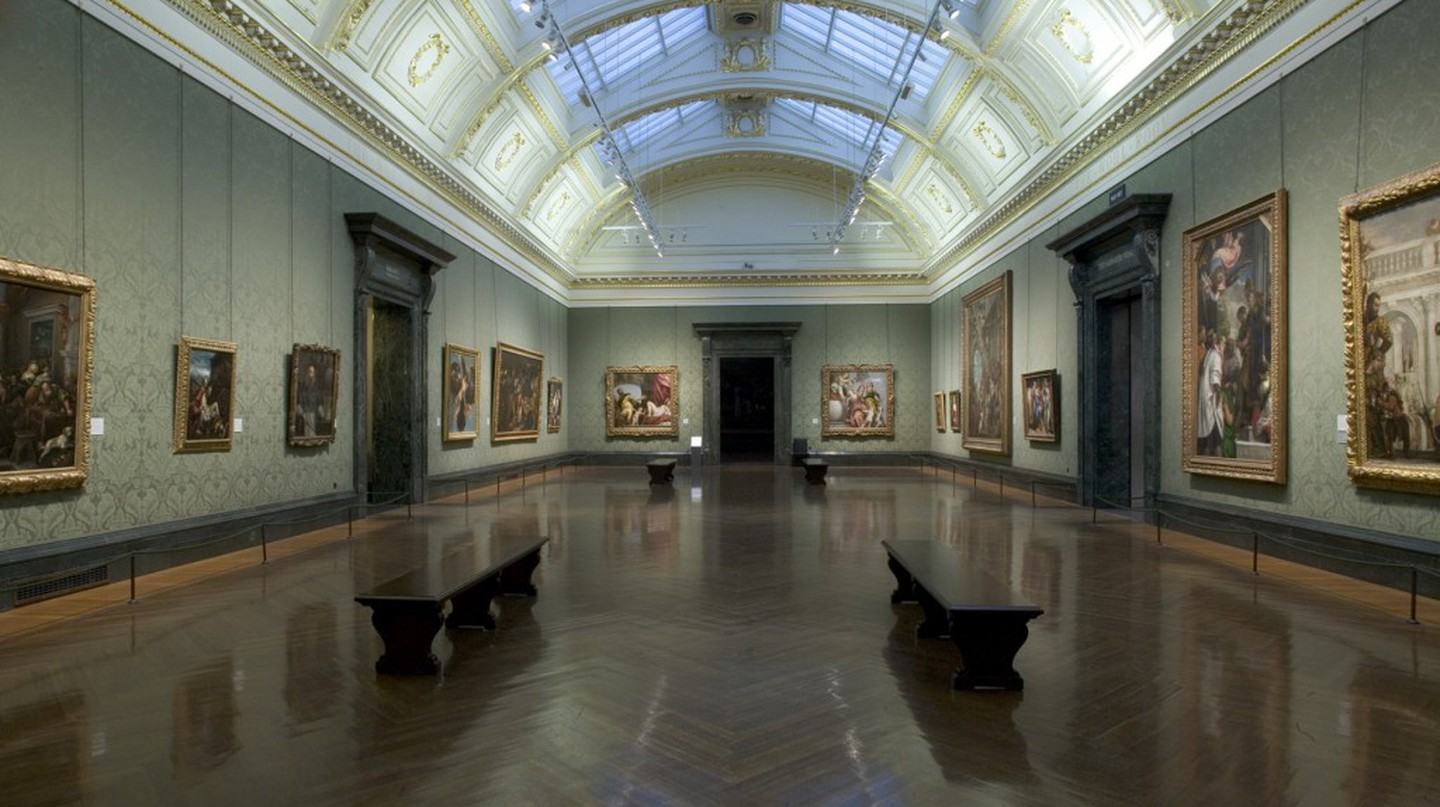 The Wohl Room at the National Gallery feature Veronese's 'Four Allegories of Love'