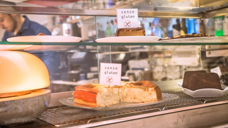 Gluten-free desserts at Restaurant Gut