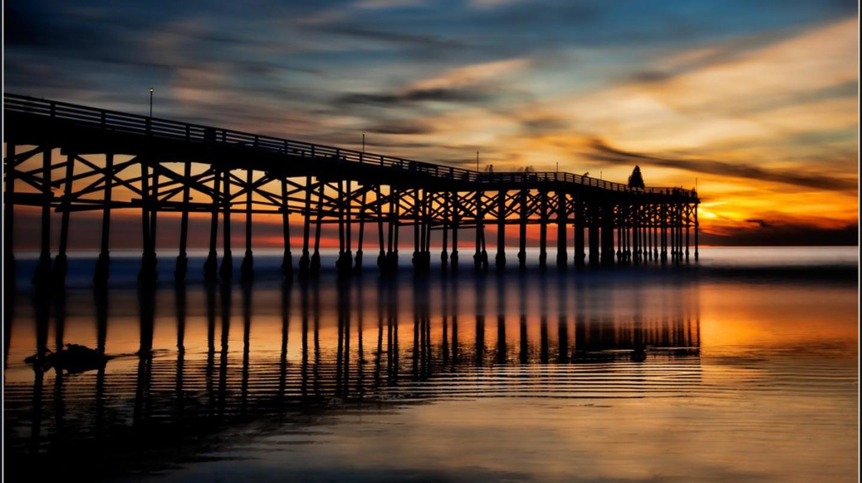 Crystal Pier at Sunset   © Rex Boggs/Flickr