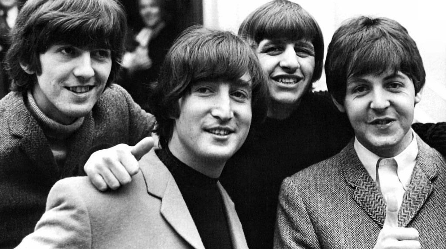 The Beatles, from left to right: George Harrison, John Lennon, Ringo Starr, Paul McCartney | Courtesy of Roger - Flickr
