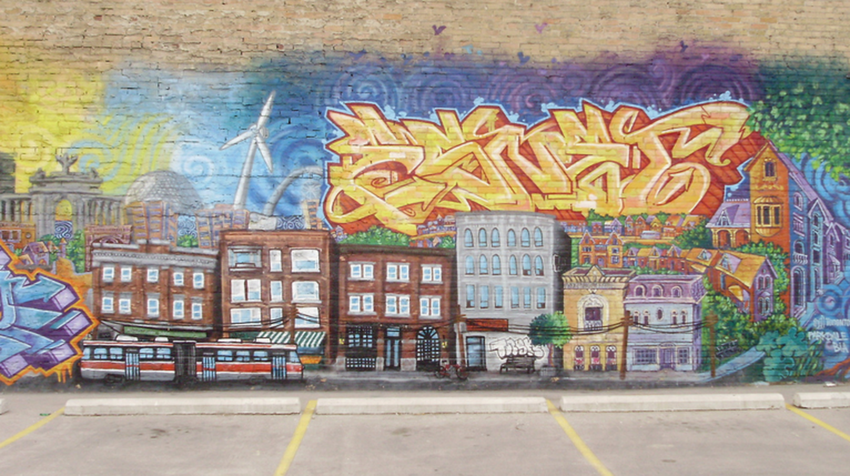 Parkdale Mural, Toronto | © margonaut/Flickr