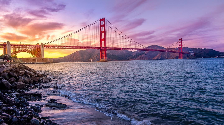 The Golden Gate Bridge | © Unsplash/Pixabay