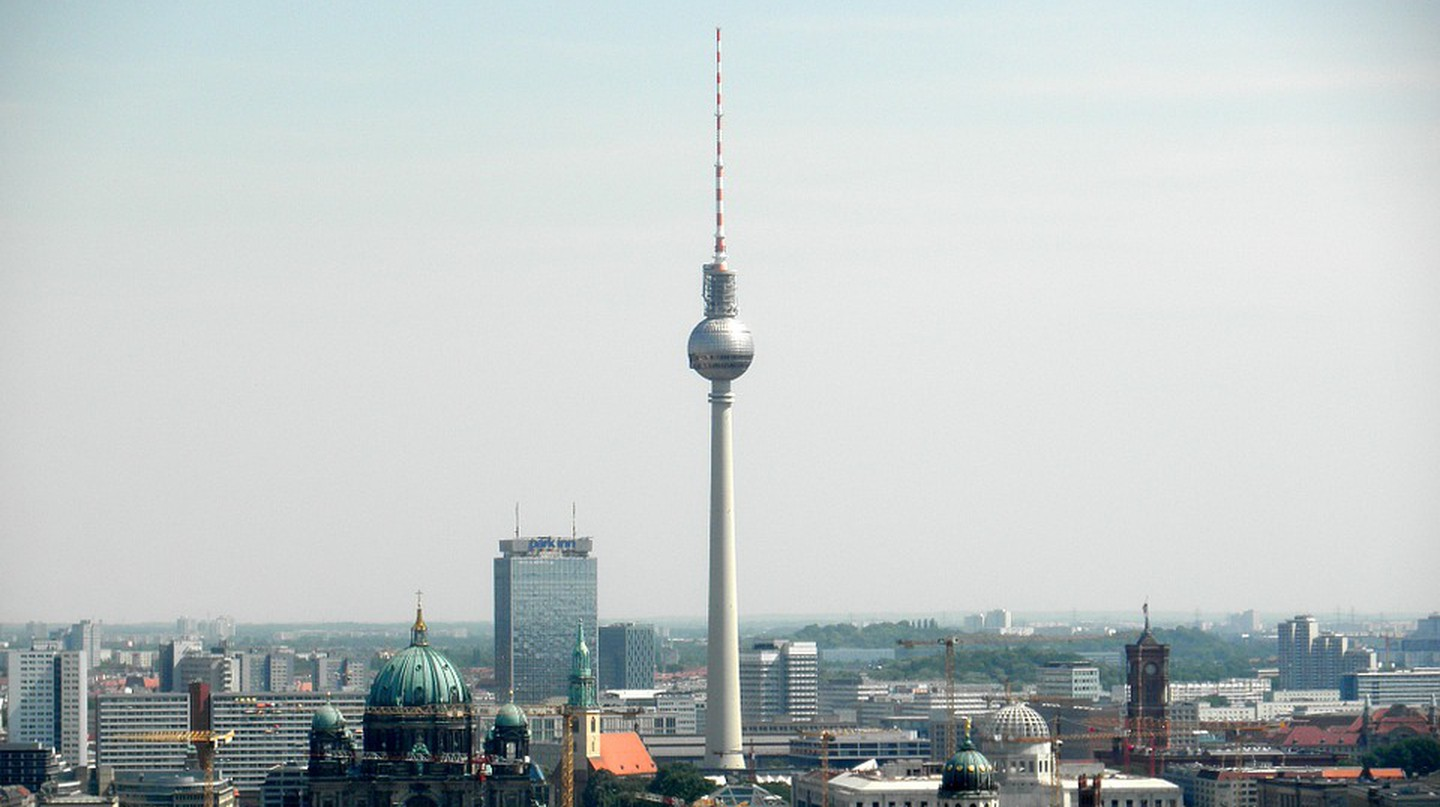 The History Of The TV Tower In 1 Minute