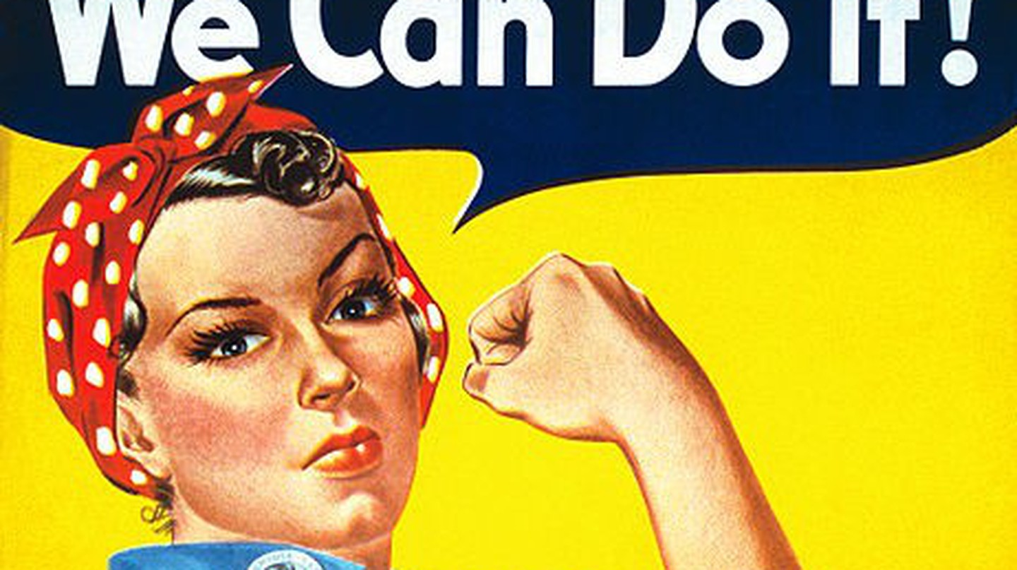 We Can Do It! © J. Howard Miller l WikiCommons