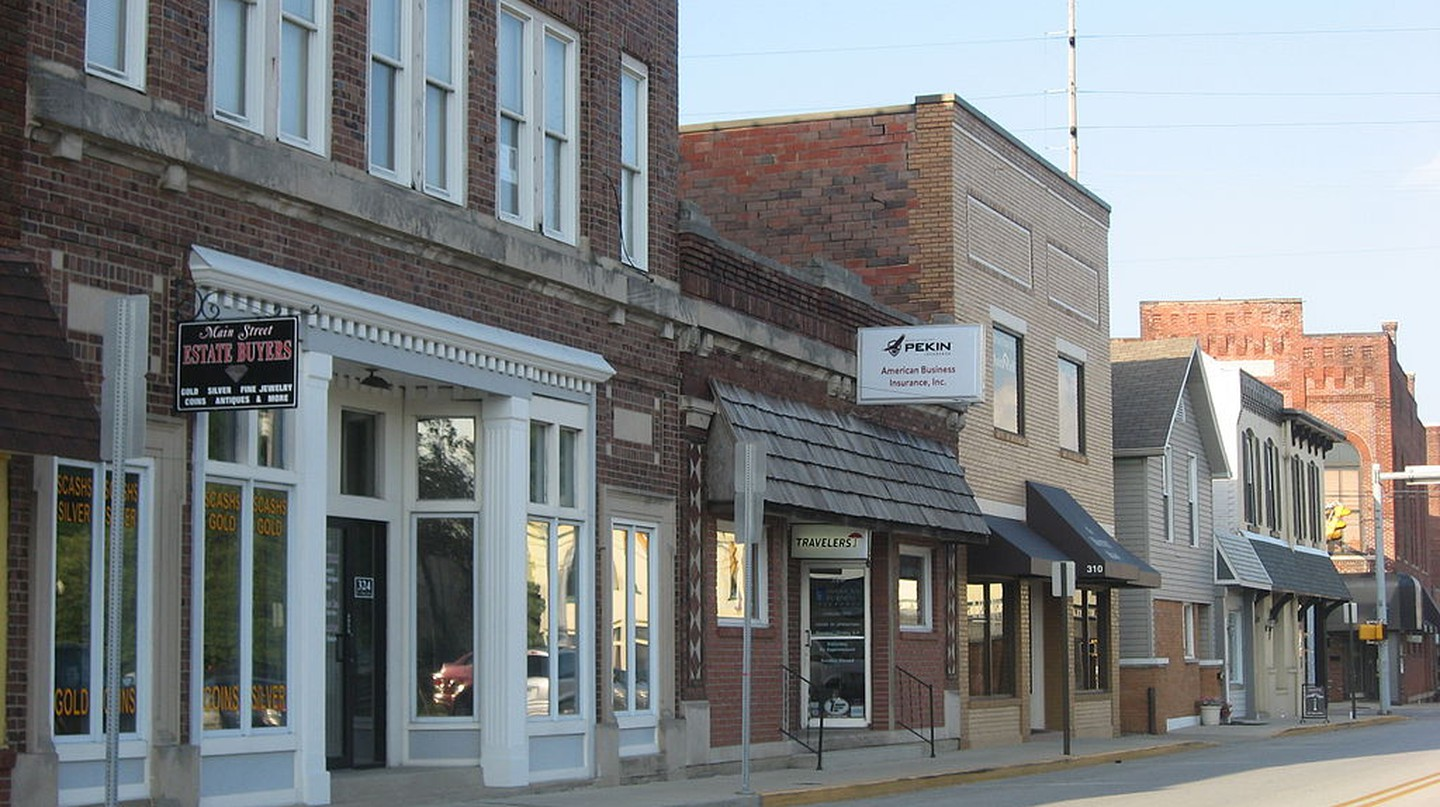 Greenwood Commercial Historic District | © Nyttend/WikiCommons