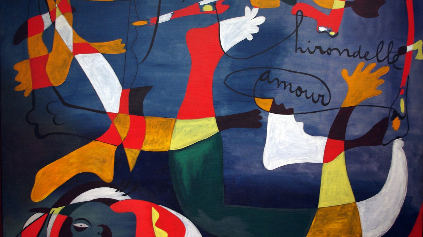 Joan Miro, Hirondelle amour, 1933-34 | © Mike Steele/Flickr