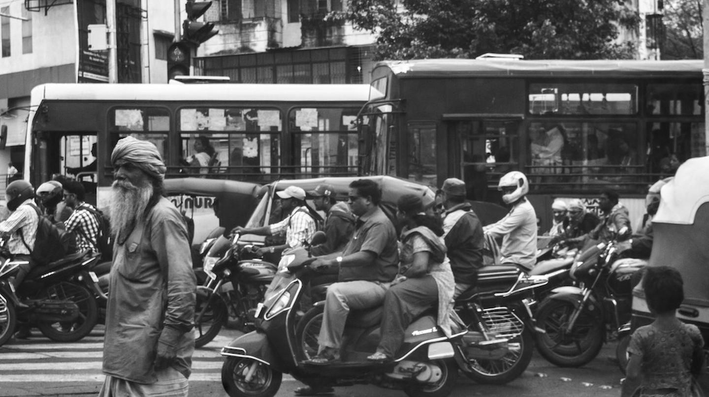 Indian Peak-time Traffic | © Ian D. Keating/Flickr