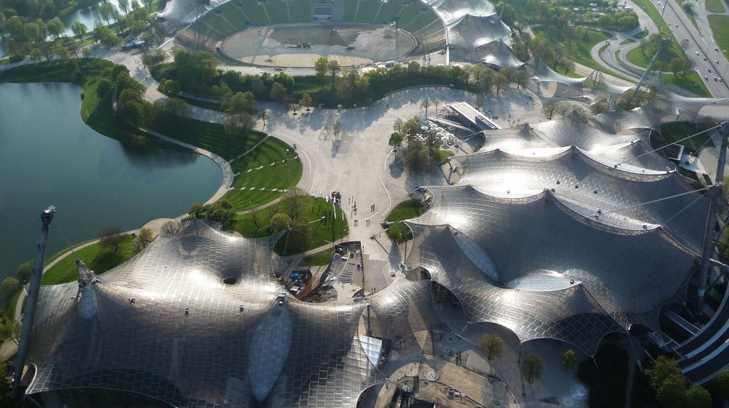 Frei Otto - Roofing for main sports facilities in the Munich Olympic Park