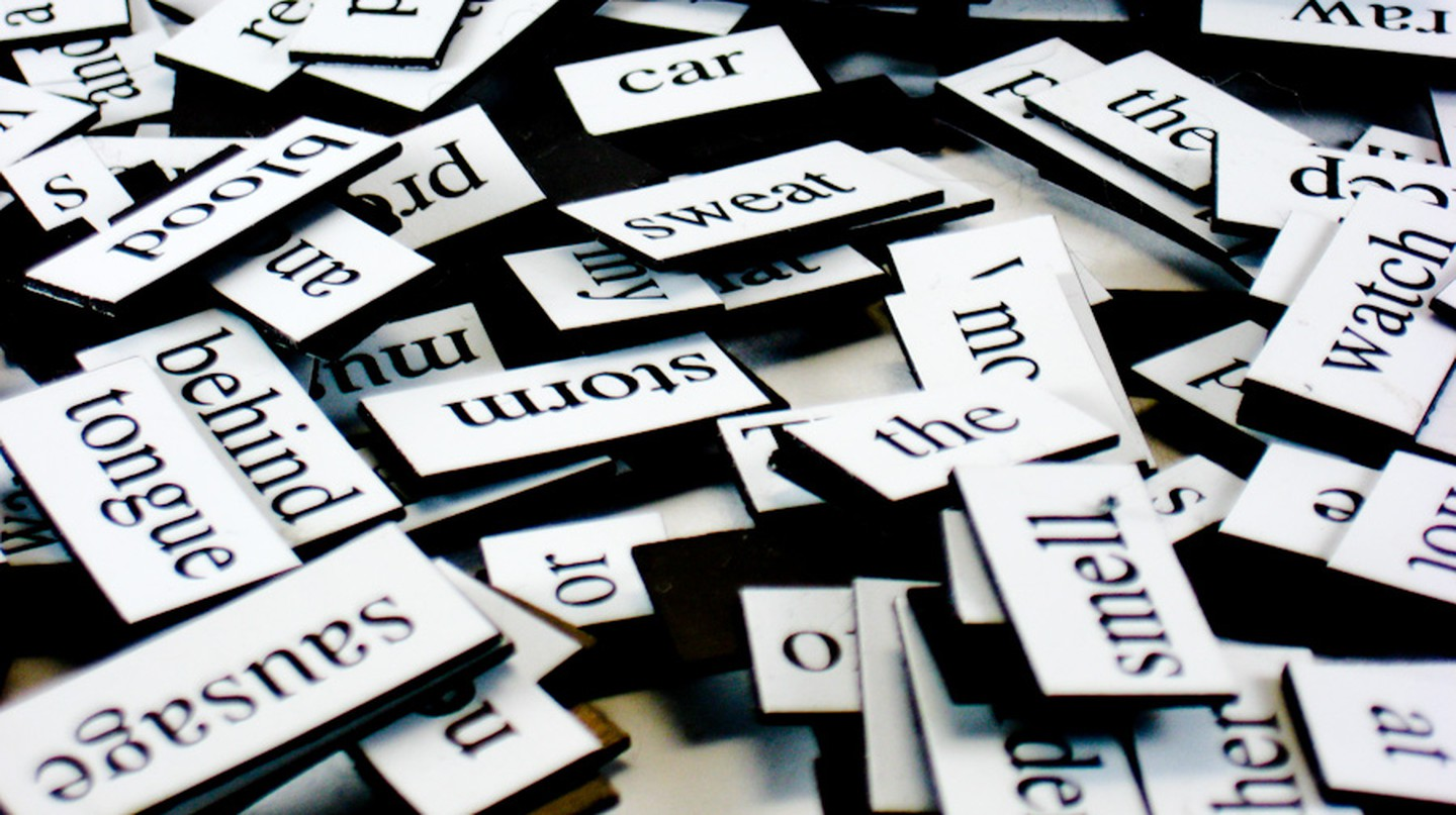 magnetic fridge poetry | © Steve Johnson/Flickr