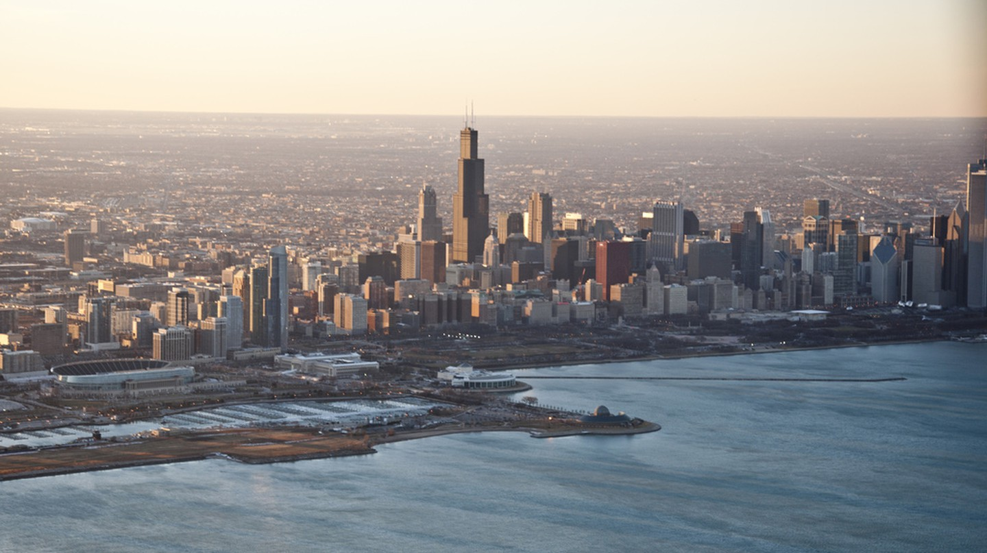 Aerial View of Chicago | © Vxla/Flickr