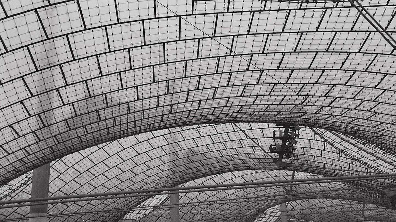 Olympiastadion München/Munich, Dach, Frei Otto   © krss./Flickr