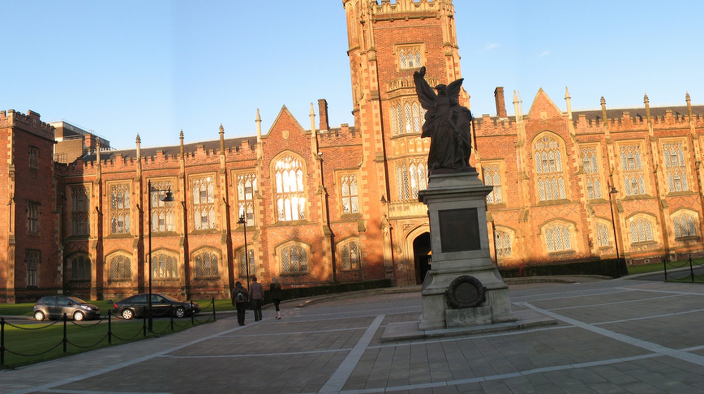 Lanyon Building at Queen's University Belfast ©Jennifer Boyer flickr