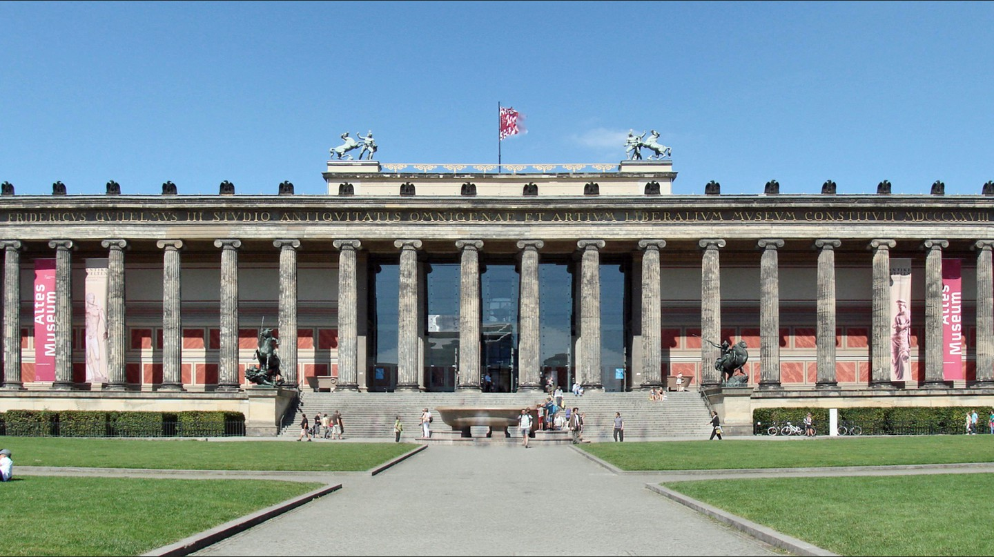 The History Of The Altes Museum In 1 Minute