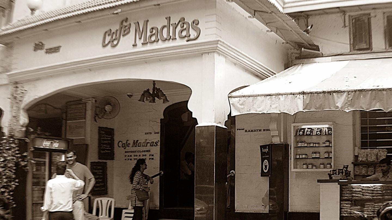 The iconic Cafe Madras at Mumbai's King's Circle   ©Rashmee Pai Art & Design/WikiCommons