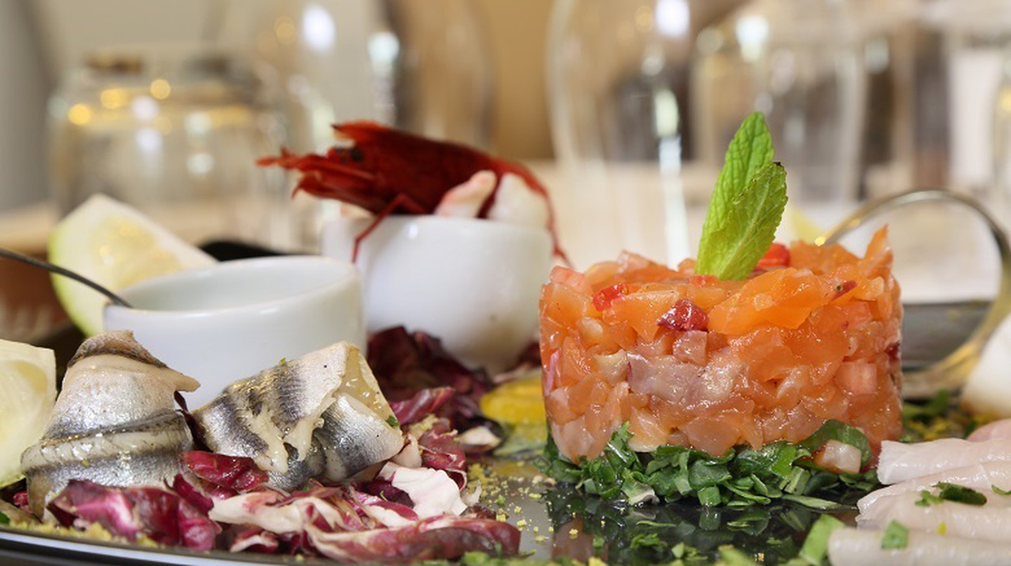 Enjoy fresh seafood at Trattoria Don Ciccio