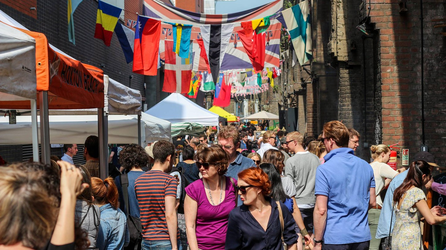 View of the Maltby Street Market | Courtesy of the Maltby Street Market