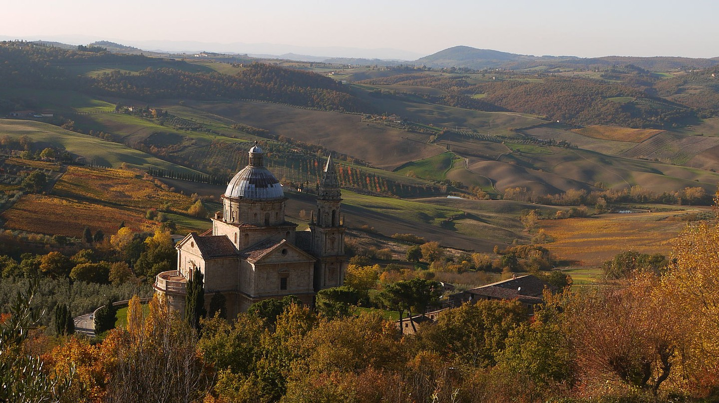 View over Montepulciano © Mammaoca2008/WikiCommons