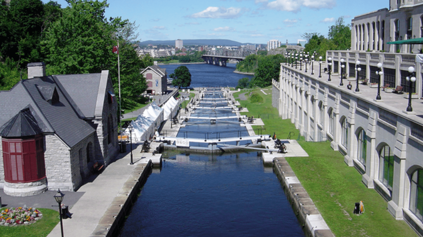 The Rideau Canal in Ottawa | © Bobak Ha'Eri/Wikicommons