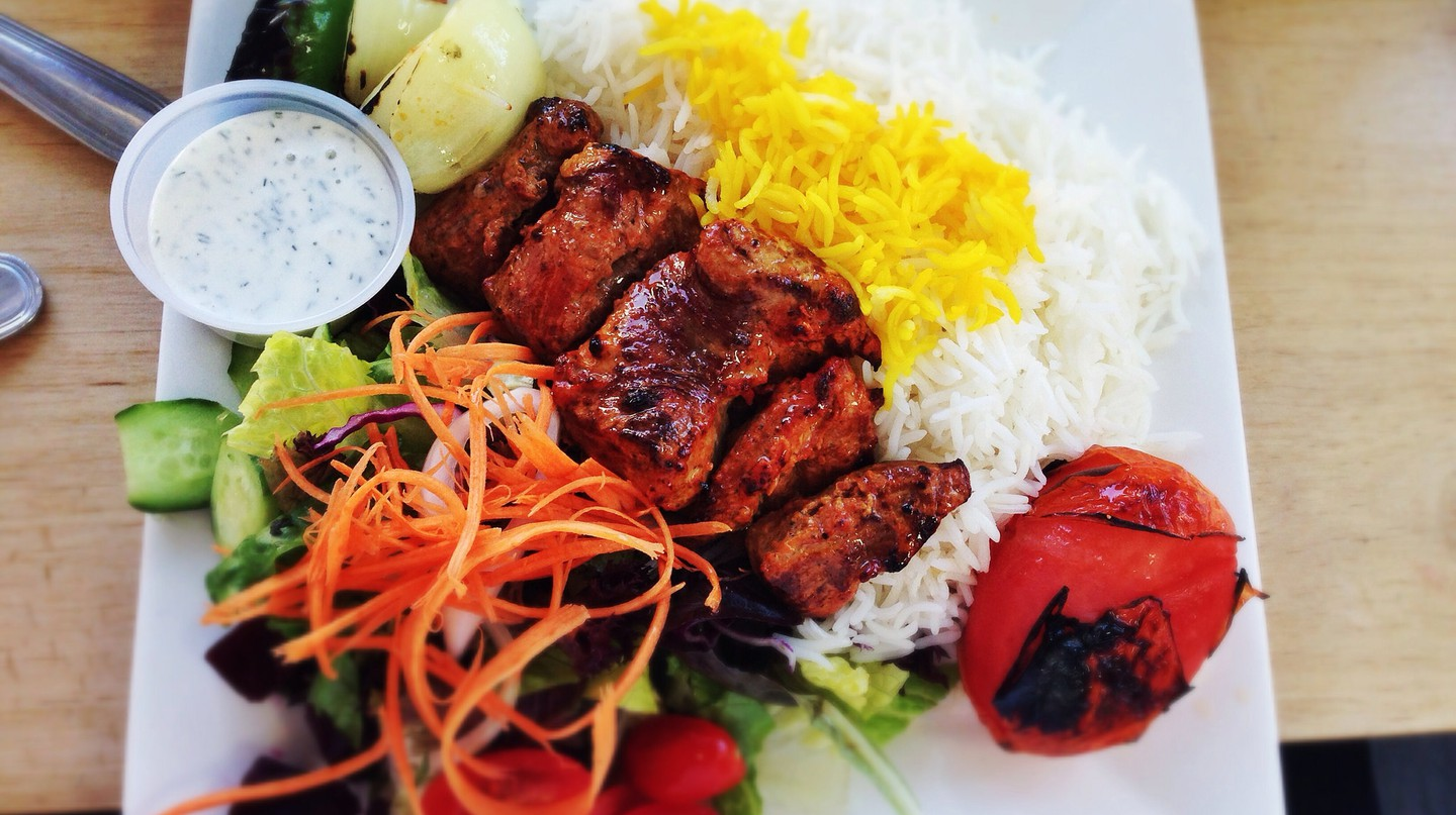 Lamb Kabob at Taste of Tehran