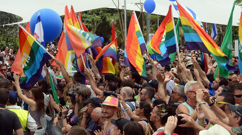 Gay Pride Parade Courtesy of Flickr  U.S. Embassy Tel Aviv