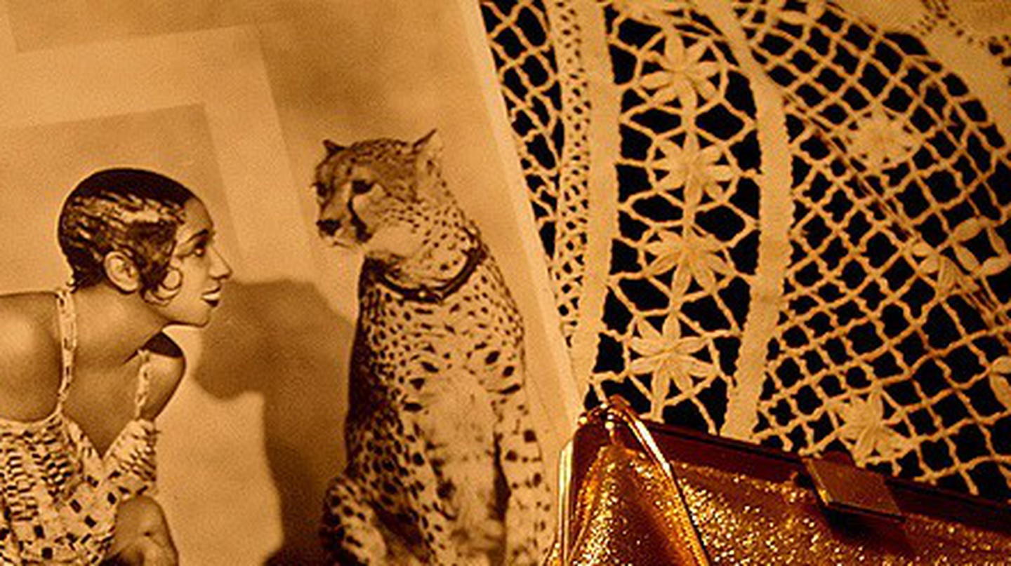 Josephine Baker with her cheetah © epictures/ Flickr
