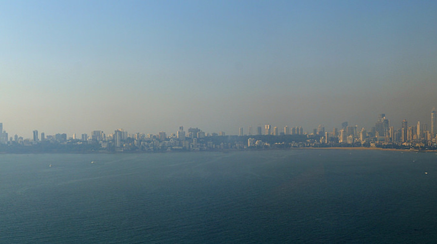 Mumbai Skyline from the Trident Nariman Point| © Glenn Strong/Flickr