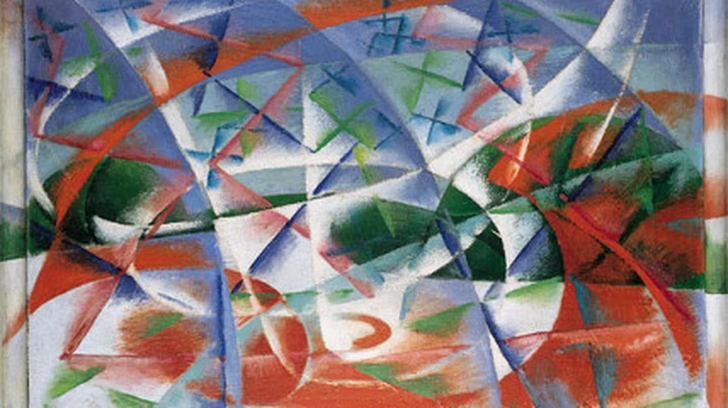 """Abstract Speed + Sound"" by Giacomo Balla 