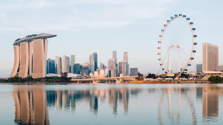 Singapore Central Business District.