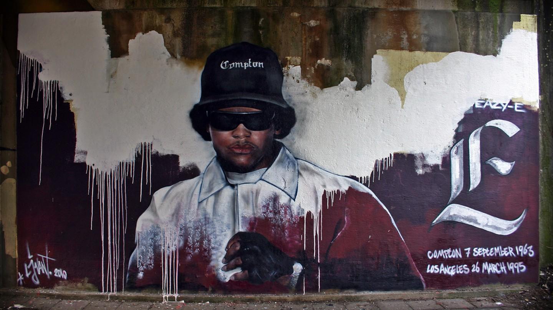 Eazy-E mural © Christiaan Triebert/Flickr