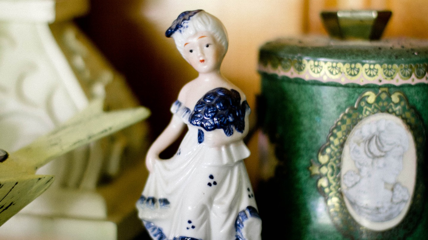 Porcelain Figure 17th Century | © Public Domain Archive