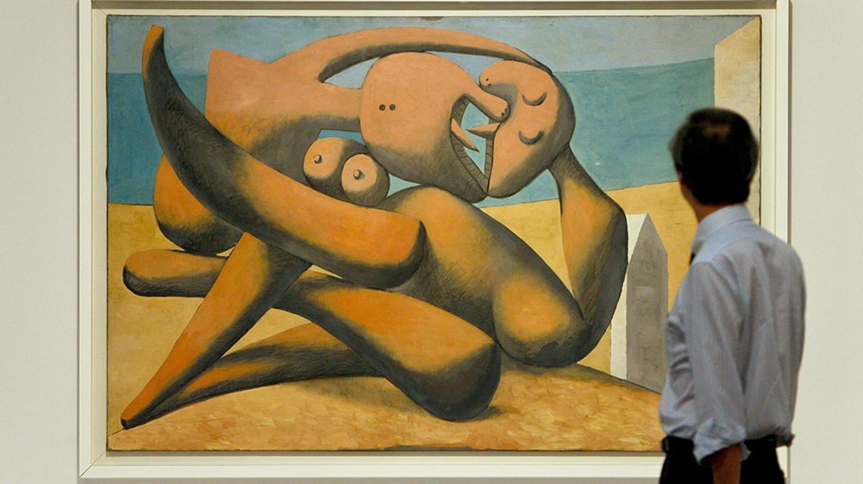 Pablo Picasso's 'Figures Au Bord De La Mer' (1931)