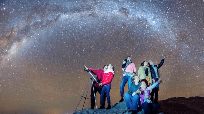Sea Lake's night sky © Herald Sun Photography. Permission by Skymirror_Australia on Instagram