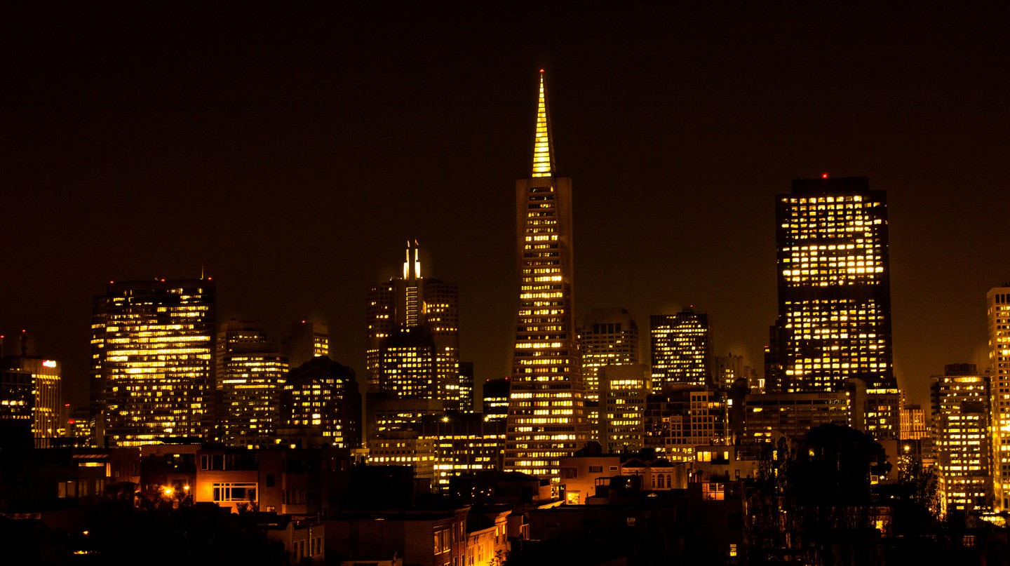 San Francisco At Night © James Daisa/flickr