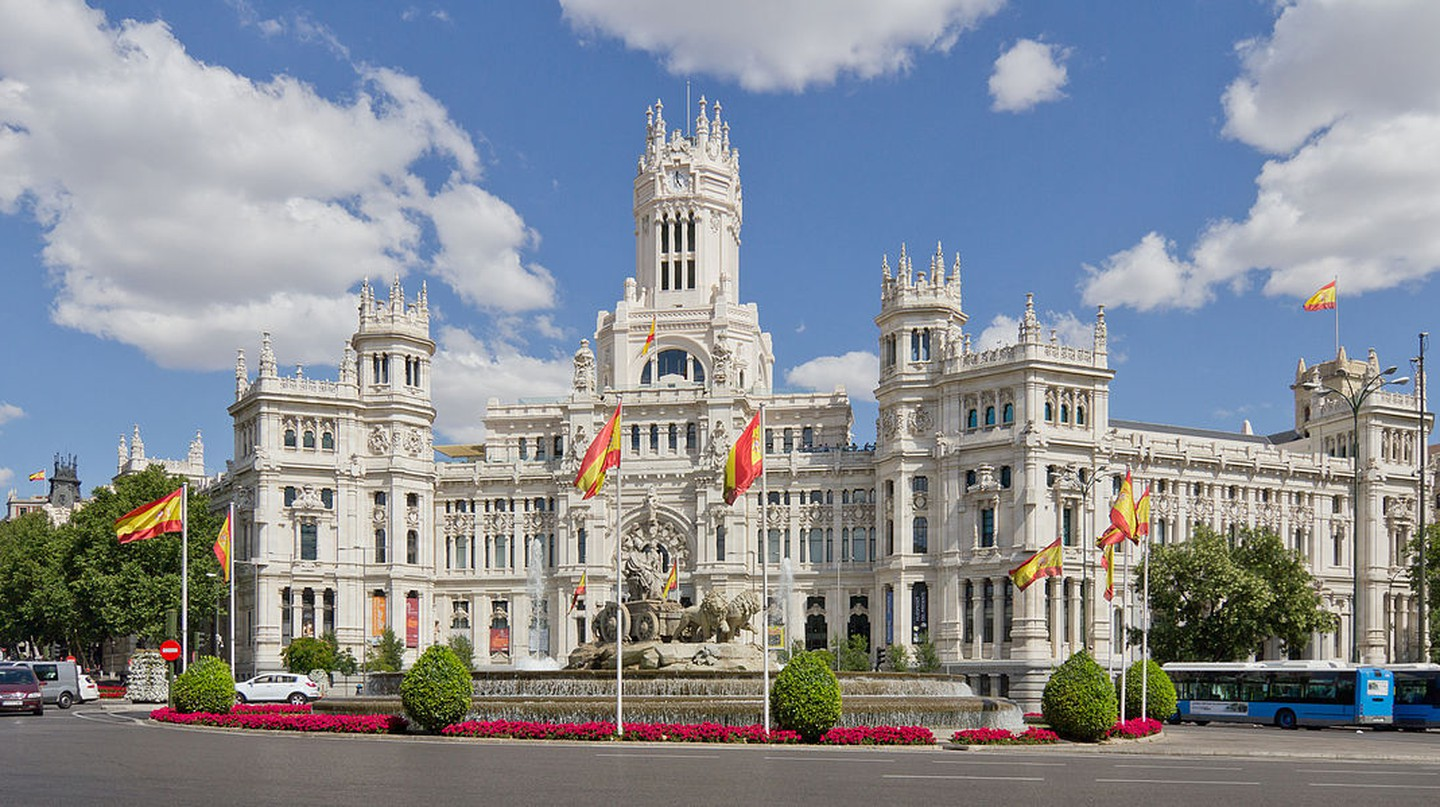 The History Of Plaza De Cibeles In 1 Minute