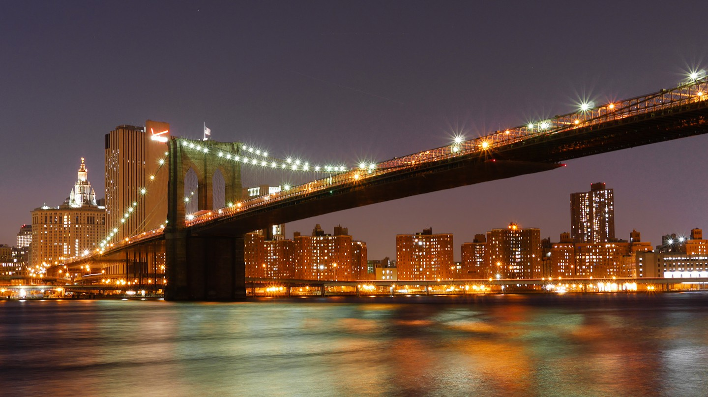 Brooklyn Bridge Nighttime | © Grisha Levit/Flickr