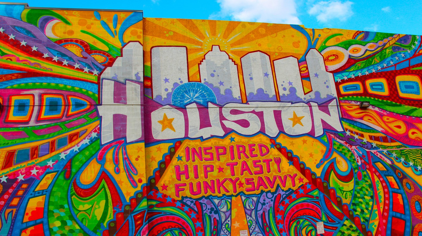 Houston Mural | © Valerie Lawson/Flickr
