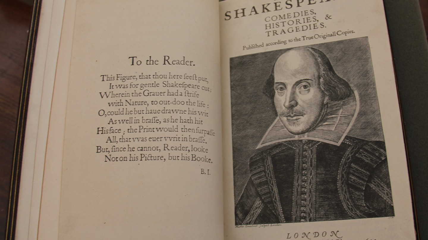 Work of Shakespeare/Flickr