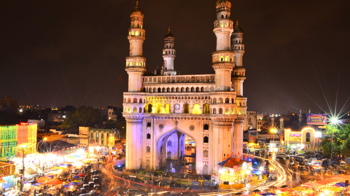 Charminar in the Night | © gardensprite57/Flickr