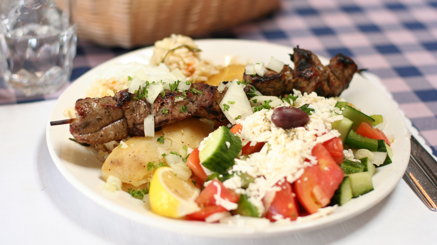 Lamb Souvlaki |© Geoff Peters/Flickr
