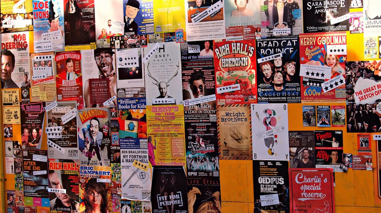Posters For The Edinburgh Festival Fringe | © ZoeTNet/Flickr