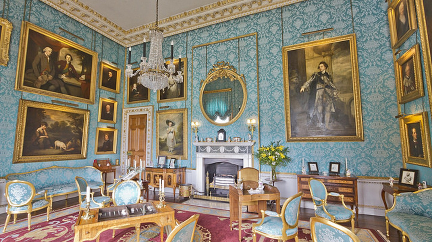 Castle Howard Turquoise Drawing Room | © Michael D Beckwith / Flickr