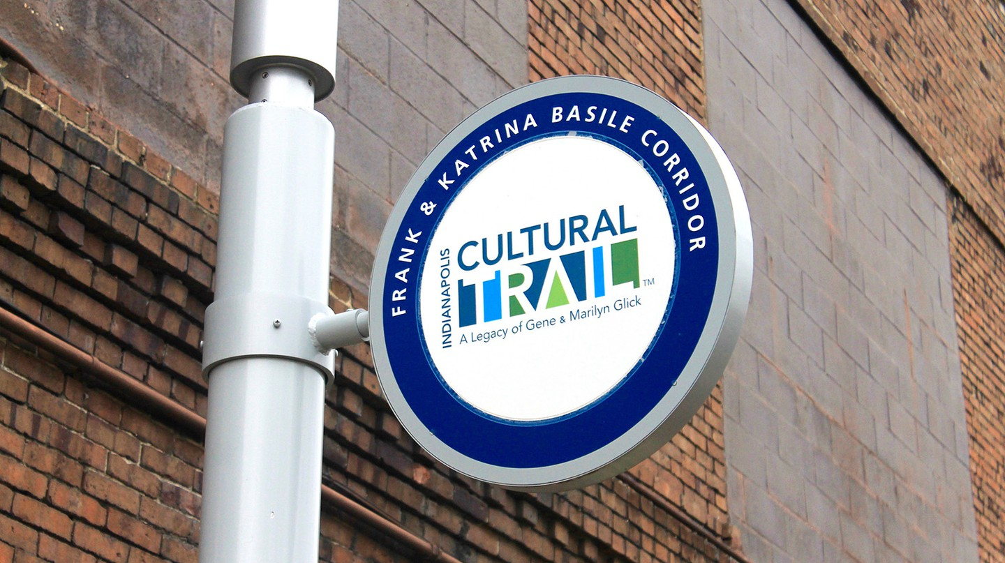 The Indianapolis Cultural Trail | Courtesy of Carley Lanich