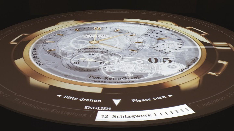 Multimedi Projection German Watch Museum, Glashütte   © Glashütte Original