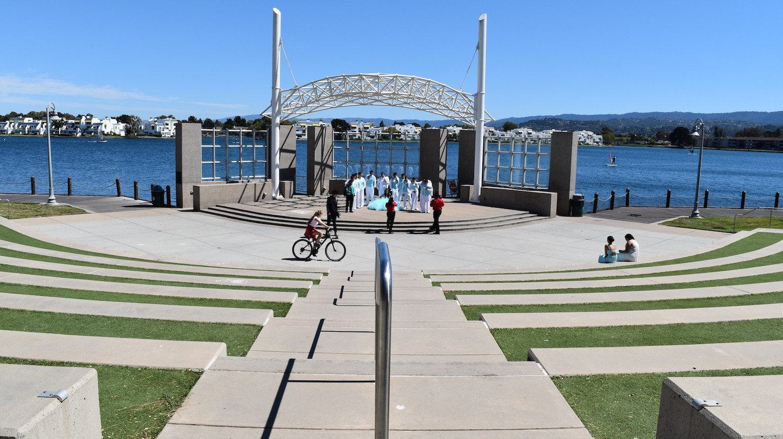 The amphitheater at Leo J. Ryan Memorial Park © Rebecca Ezrin