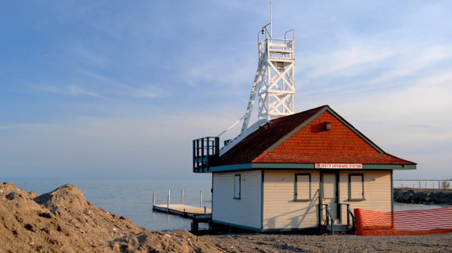 Leuty Lifeguard Station on Kew Beach | © John Vetterli/Wikicommons