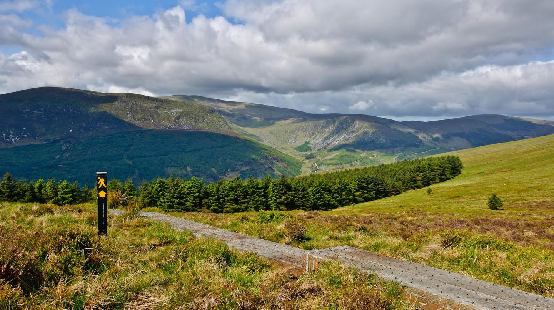 Wicklow Way Hiking Trail | © Joe King / WikiCommons