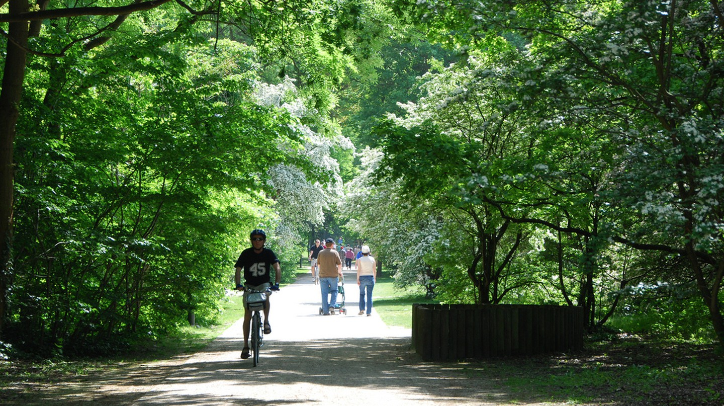 The promenade verte, a path for hikers and cyclists that weaves through Brussels' greenest spots | © Stephane Mignon/Flickr
