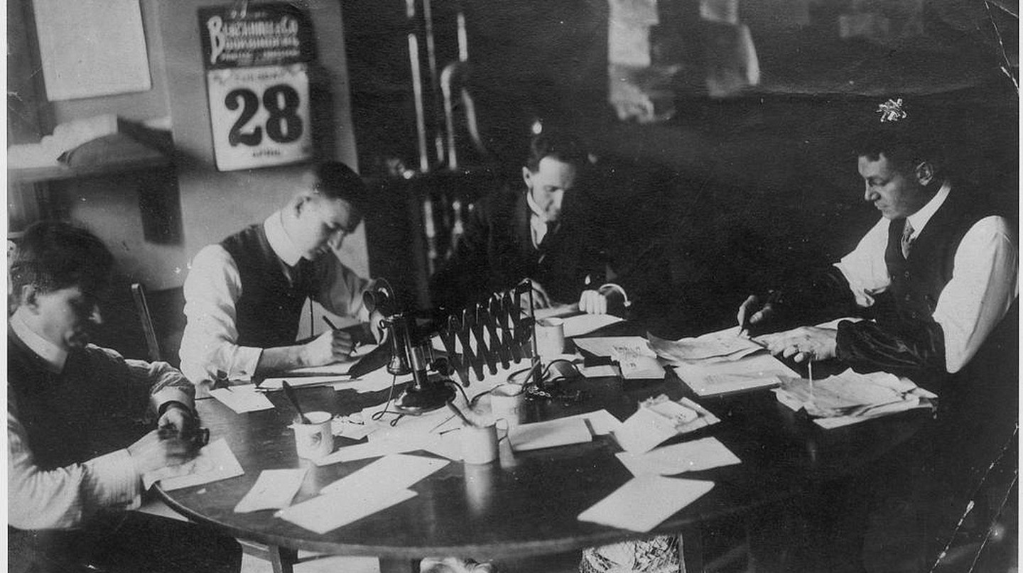 Toronto Star city desk | © Toronto History/Flickr