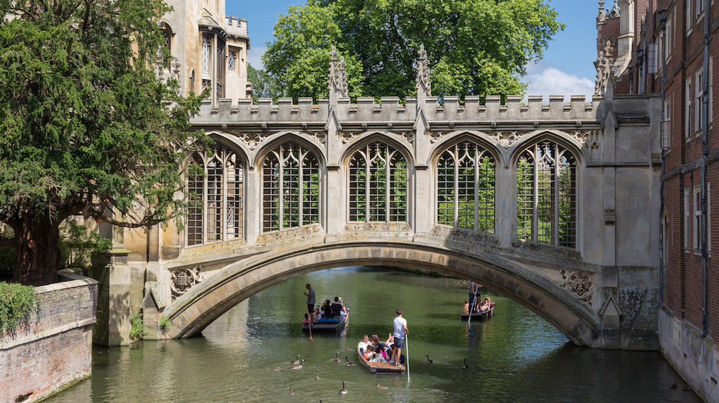 The Bridge of Sighs in St John's College, University of Cambridge  l © DAVID ILIFF/WikiCommons